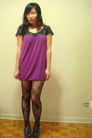 Silence  Noise dress - Urban Outfitters leggings - Ebay shoes