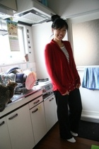 Apart by Lowrys sweater - Muji shirt - H&M pants - Repetto Zizi shoes