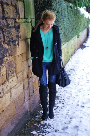 Mango jeans - Ebay sweater - Primark bag