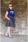 Dark-gray-denim-micimici-skirt-blue-cotton-t-shirt