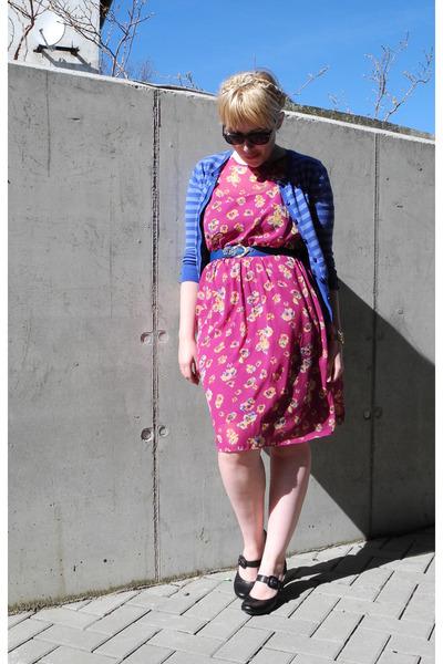 magenta asoscom dress