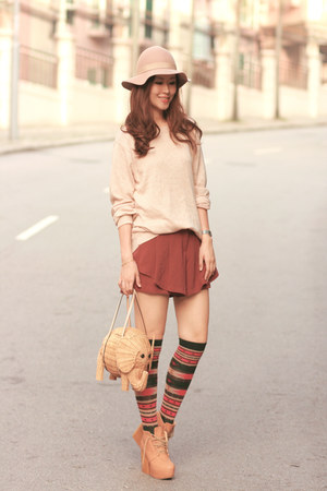 neutral romwe sweater