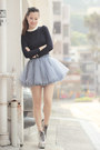 Light-pink-choies-boots-periwinkle-ianywear-skirt-navy-yesstyle-top