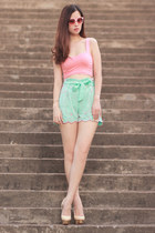 aquamarine virgos lounge shorts - bubble gum mexyshop sunglasses