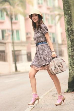 periwinkle becky bloomwoods wardrobe dress