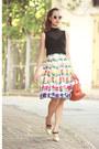 Black-karen-millen-top-deep-purple-choies-skirt