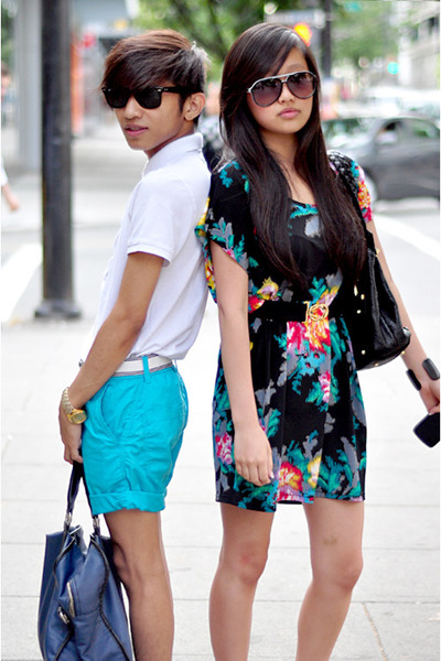 blue H&M Kids shorts