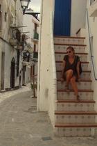 Zara dress - BLANCO shoes - sunglasses