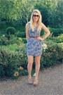 Floral-gina-tricot-dress-heeled-ash-sandals