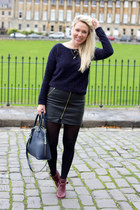 leather warehouse skirt