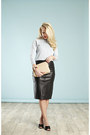 Leather-midi-reiss-skirt