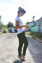 black Celine pants