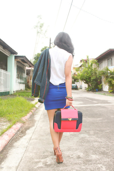blue Anti-Fashion Manila skirt