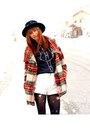 Ruby-red-free-people-coat-white-wrangler-shorts-navy-vena-blouse-black-ald