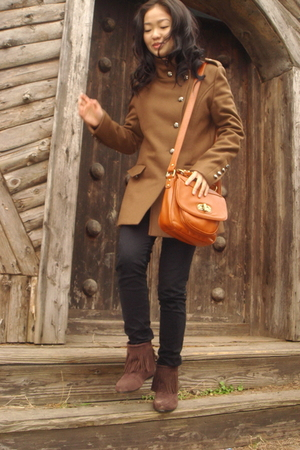 BCBG coat - black H&M jeans - shoes
