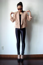 jacket - American Apparel jeans - shoes