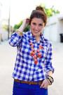 Blue-mossimo-jeans-blue-gingham-aeropostale-shirt
