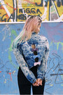 Black-high-waisted-levis-jeans-sky-blue-acid-wash-vintage-jacket