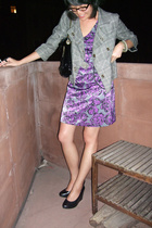 Richard Chai for Target dress - Miss Me jacket - H&M shoes - Hayden-Harnett purs