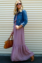 JCrew dress - JCrew jacket - Michael Kors purse - Gap sandals