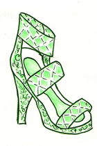 green Jeffrey Campbell shoes