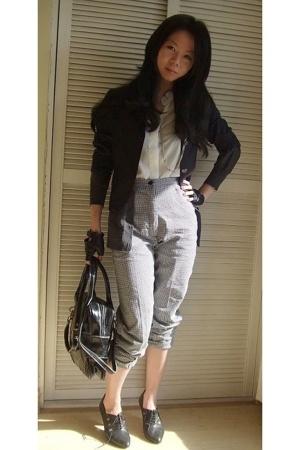 blouse - - jacket - pants -