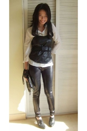 skirt - Melrose - Zara - vintage - Urban Outfitters