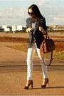 Vintage-from-mum-blazer-zara-bag-bershka-heels
