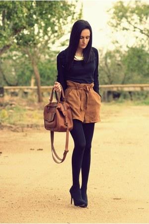 Sfera shorts - Zara bag
