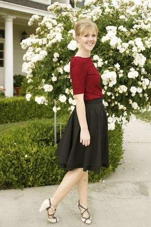 full modcloth skirt - Adrianna Papell dress
