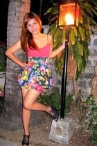 Zara shoes - Mango top - Betsey Johnson skirt