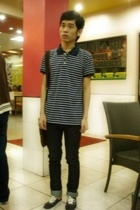 Dean & Trent top - Cheap Monday jeans - Vans shoes - Louis Vuitton