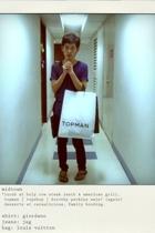giordano shirt - jeans - Louis Vuitton