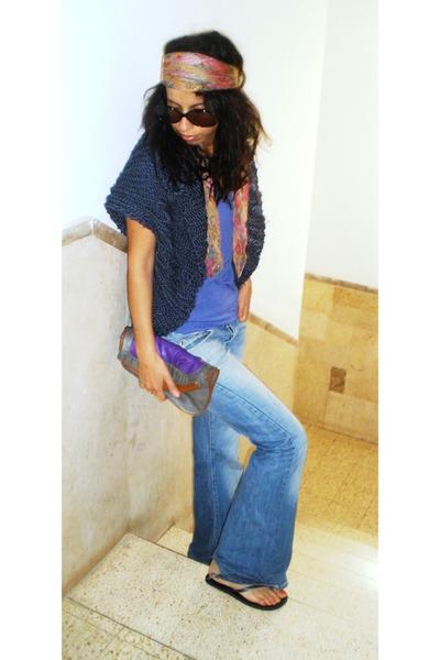 Mango shirt - Lee jeans - Mango sunglasses