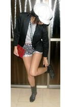 H&M hat - pull&bear shoes - TFS blazer