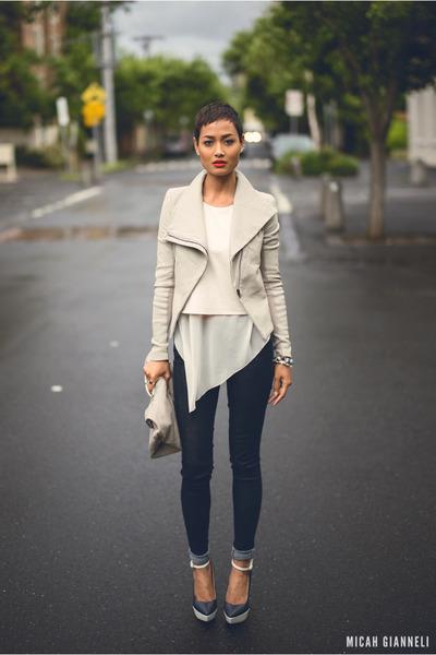 ivory jacket