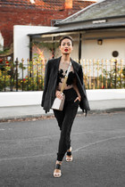 black lace lingerie SJ Lingerie bodysuit