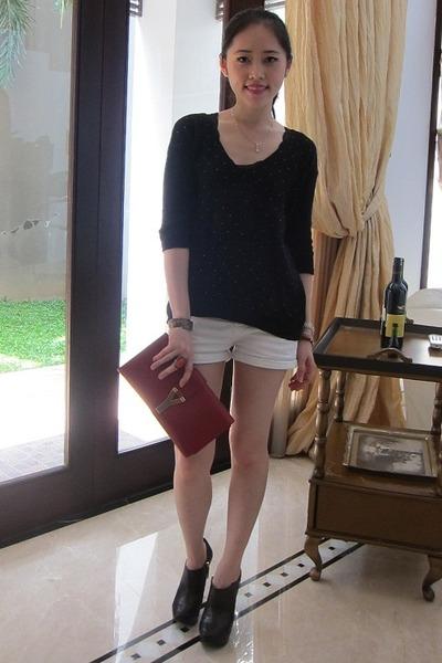 Zara boots - Zara jumper