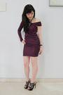 Purple-alexwang-dress-black-nkirkwood-shoes