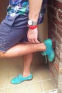 Oxford-cole-haan-shoes-polo-ralph-lauren-shirt-diy-shorts