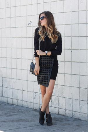 asymmetrical Bariano skirt
