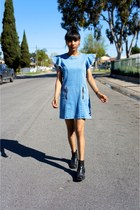 blue Genetic Denim dress