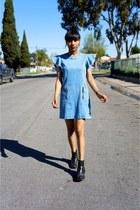 blue Genetic Denim dress