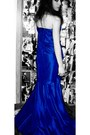 Blue-silk-blue-dress-blue-dress-dress