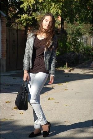 H&M jacket - Zara bag - Zara loafers