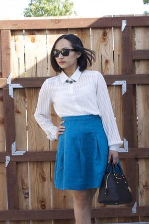 Kirna Zabete skirt - Michael Michael Kors purse - Forever21 blouse