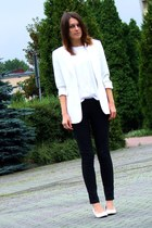 second-hand blazer - H&M pants
