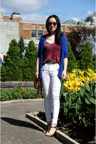blue Urban Outfitters cardigan