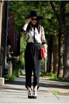 black Olivia pants