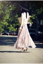 pink Topshop skirt
